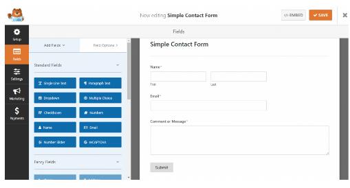 Cara Membuat Contact Form di AMP WordPress