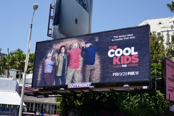 Cool Kids series premiere billboard