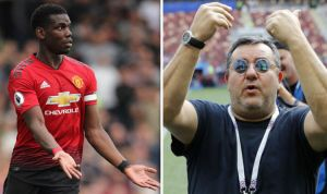 Man Utd, PSG, Real Battle For Pogba As Agent Mino Raiola Holds Talks With Juve