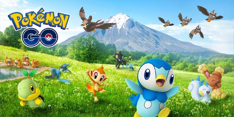 Pokémon GO - Celebração de Sinnoh