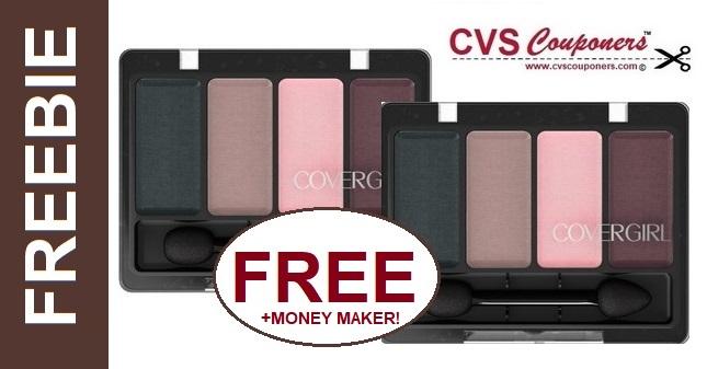FREE CoverGirl 4-Kit Eye Shadow at CVS  6-23 6-29