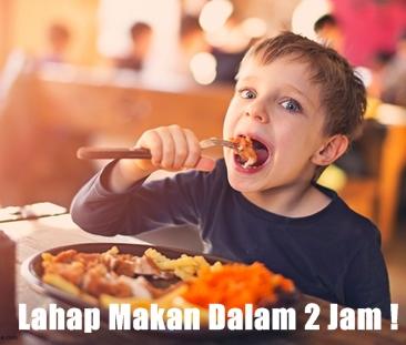 Anak Lahap Makan