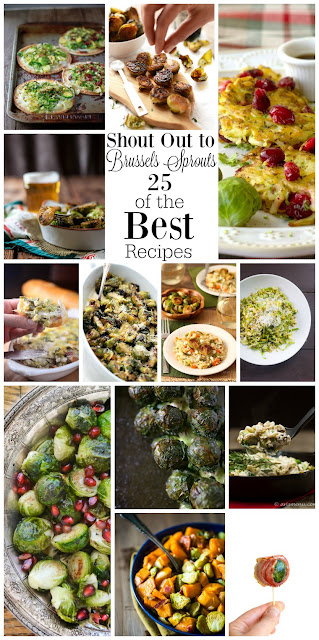 Shout Outs to Brussels Sprouts - 25 of The Best Recipes from www.bobbiskozykitchen.com