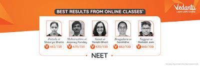 NEET Result from Vedantu