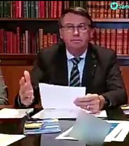 Polêmica Bolsonaro tenta sem sucesso desmentir fala se referindo ao covid-19