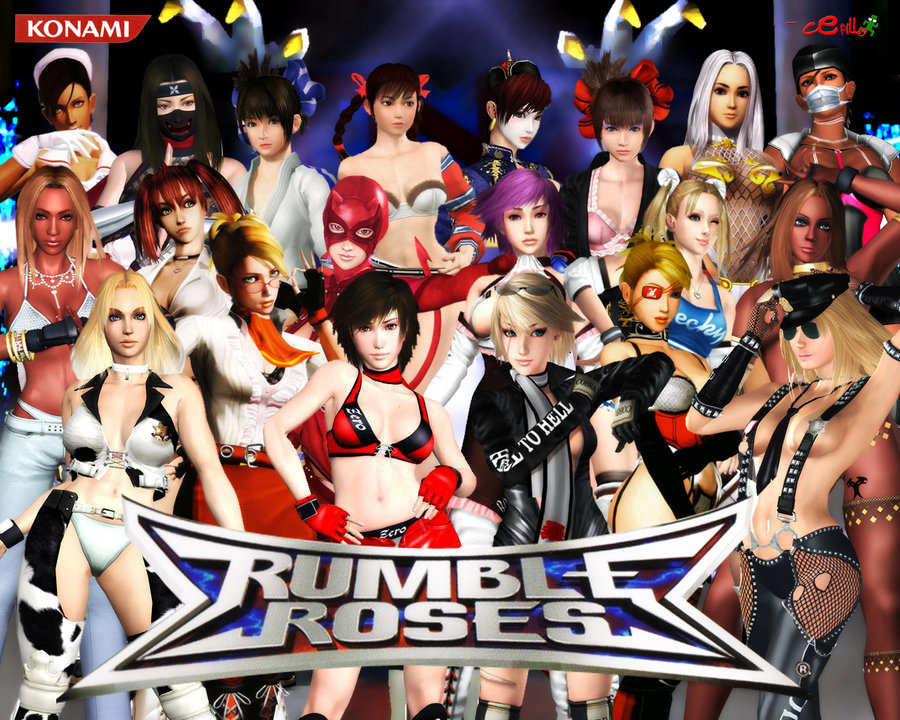 Rumble Roses Porn Live Action 54