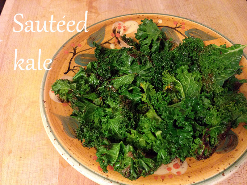 Fruitful: Simple Saturday: How to Cook Kale