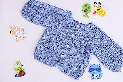3 - Crochet Imagen Chaqueta a crochet con puntada de arroz muy fácil y sencillo por Majovel Crochet