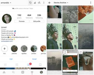 Cara Menggunakan Arsip dan Sorotan di Instagram Story