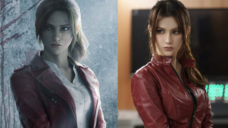 Cosplayer Claims Netflix Uses Her Face in the new Resident Evil Series