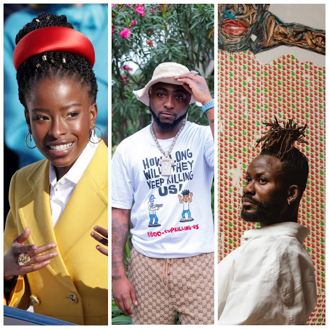 "Amoako Boafo, Davido, Amanda Gorman and others make 2021 ""Time100Next"" list"