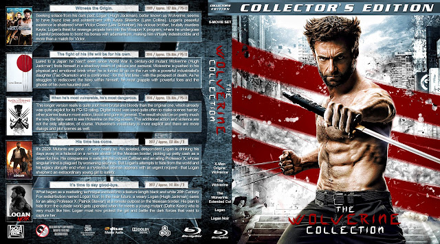 The Wolverine Collection Bluray Cover
