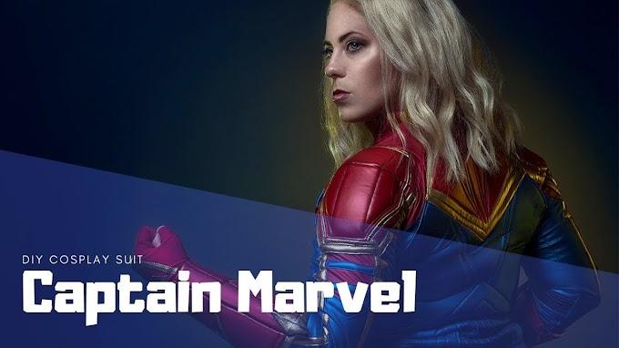 Como hacer el traje de Capitana Marvel