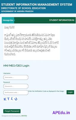 Student Basic Dletails Form-I & II