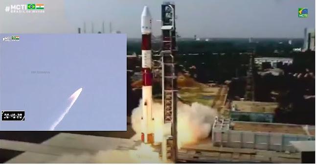 Satelite 100%´Brasileiro é lançado o  Amazonia 1 chega à órbita com sucesso e inicia transmissão de dados