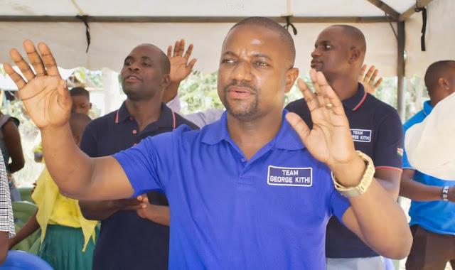 Kilifi Senatorial aspirant George Kithi News Photo