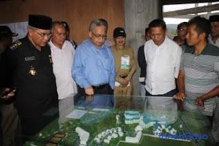 Tim Kementerian Keuangan Tinjau RSU Regional Aceh Tengah