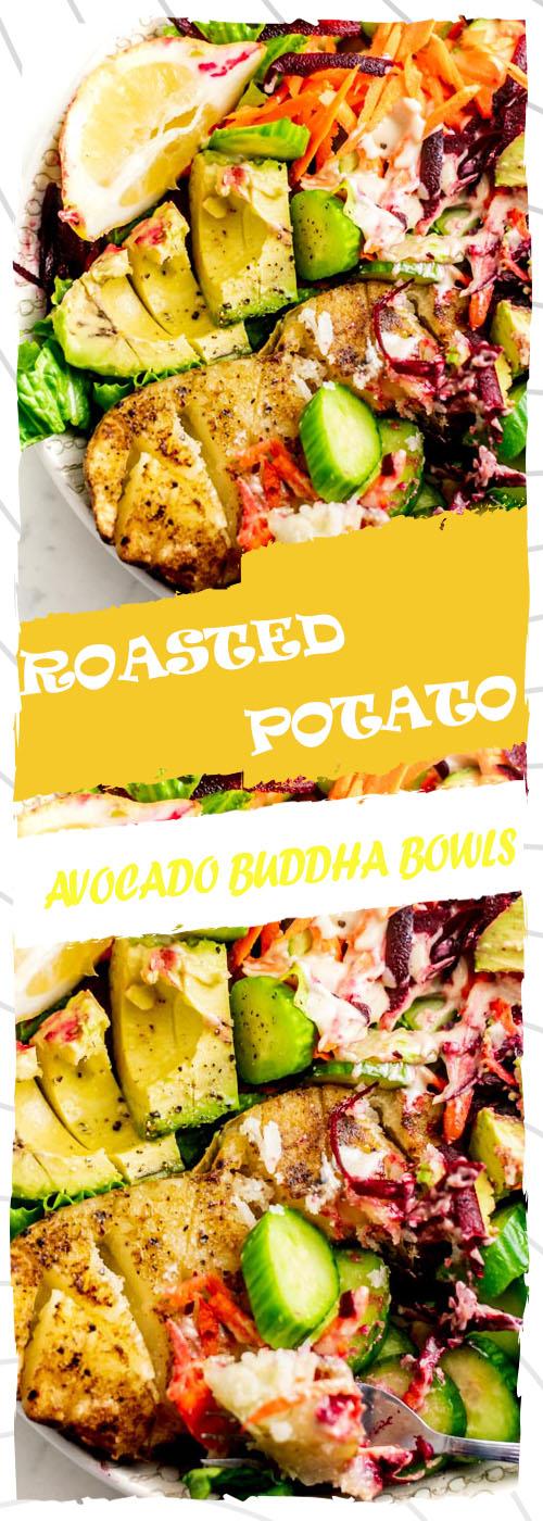 ROASTED POTATO AVOCADO BUDDHA BOWLS RECIPE