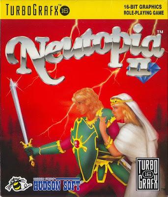 El Pequeño Rincón de los Grandes RPG - Neutopia II - Caja NTSC USA