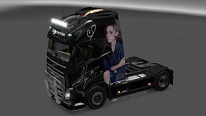 Dilraba skin for Volvo 2012