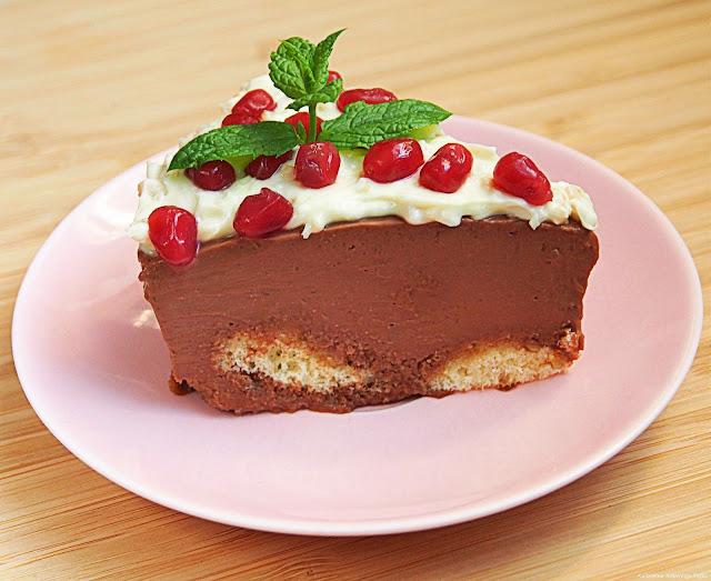 czekoladowy torcik bez pieczenia