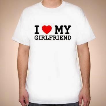 Koszulka I love my girlfriend
