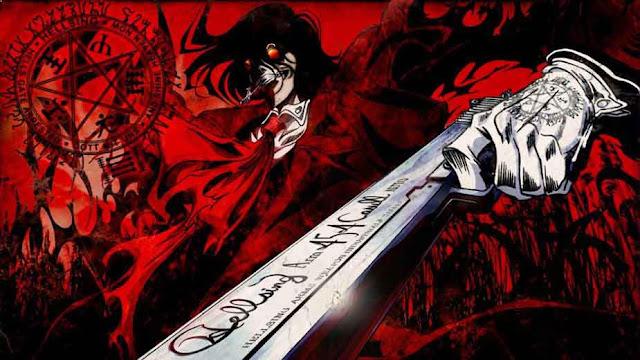 Hellsing - Daftar Anime Gore Terbaik