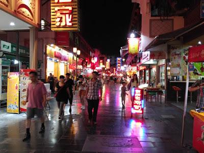 guilin por la noche china