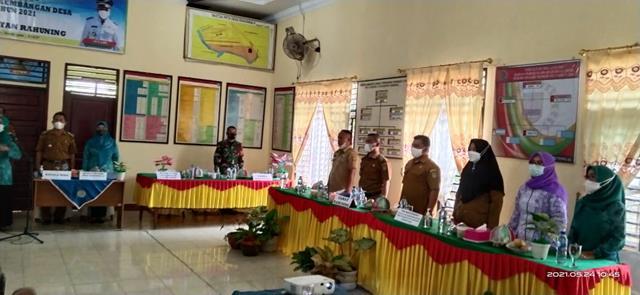 Pelaksanaan Monitoring/Evaluasi Perkembangan Desa Turut Serta Diahdiri Oleh Personel Jajaran Kodim 0208/Asahan
