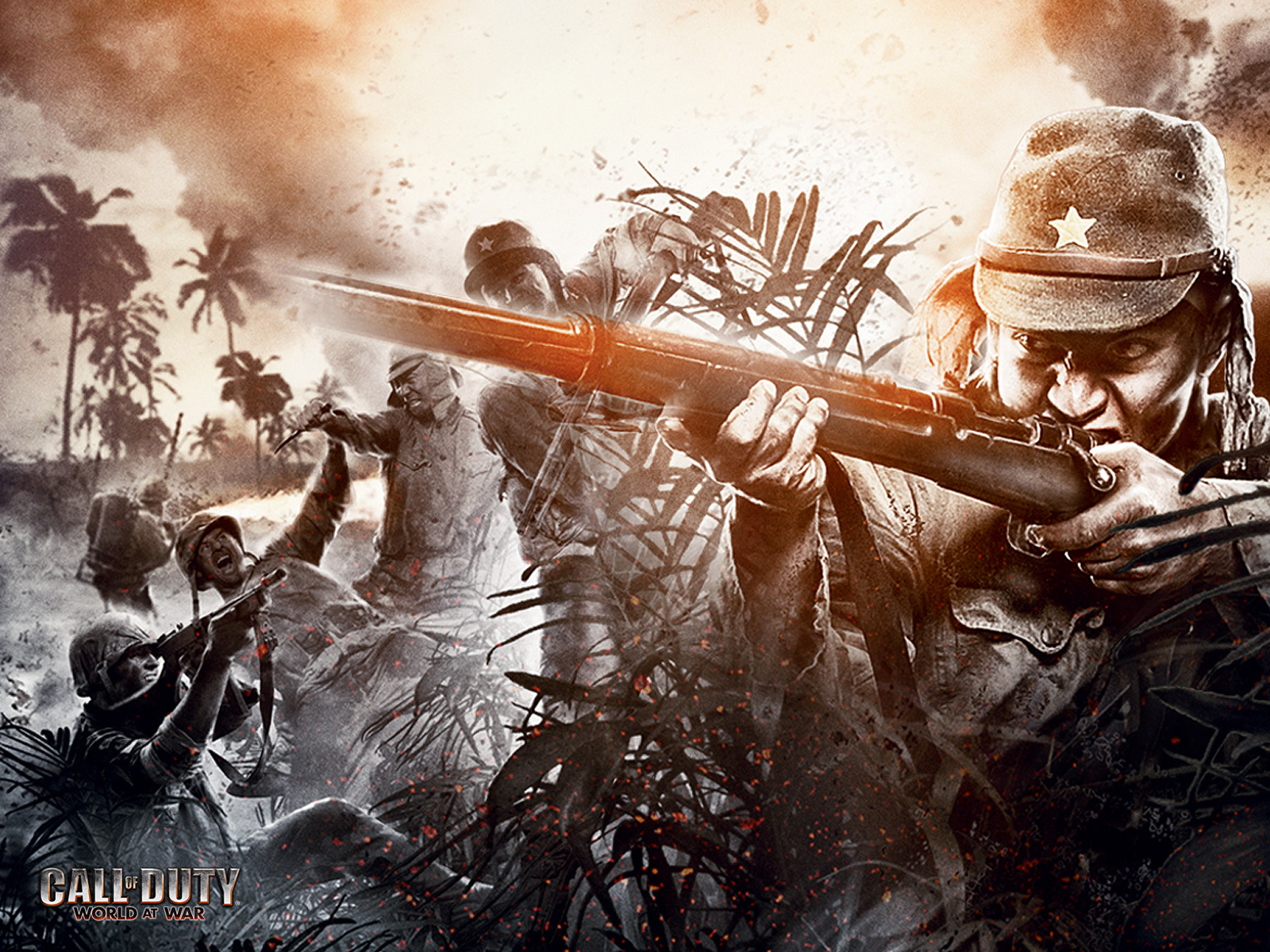 Hd wallpapers call of duty 5 world at war - Cod ww2 4k pc ...