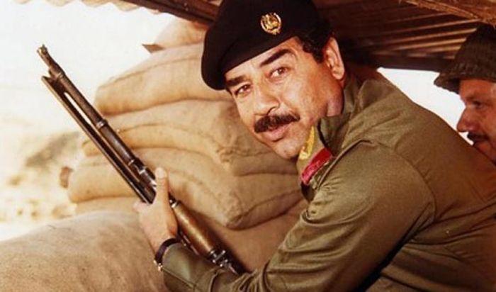 Saddam Husein. The World