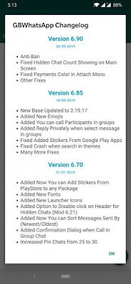 تطبيق Gbwhatsapp تخطي الحظر