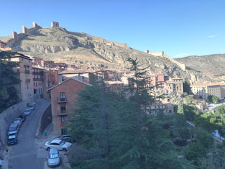 Muralla de Albarracín (Teruel).  Foto: T.R.
