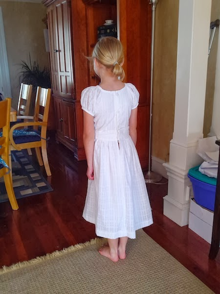 I Do Get Crafty Once In A While 8 Year Old Baptism Dress
