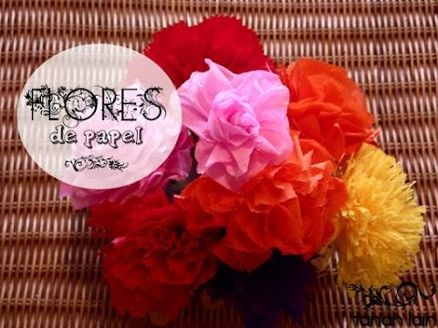 Cómo hacer flores de papel