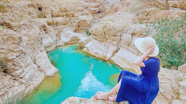 وادي شاب بسلطنة عمان