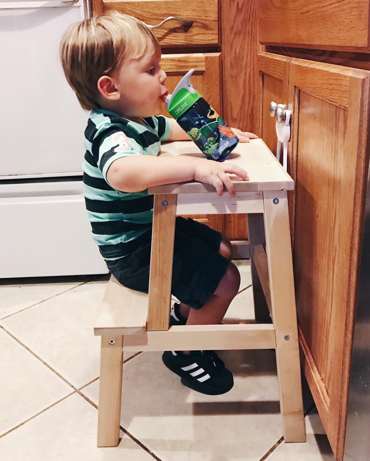 Outstanding Ikea Hack Bekvam Step Stool Tuesdays With Jacob Machost Co Dining Chair Design Ideas Machostcouk