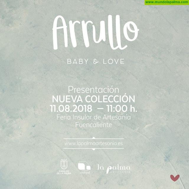 La Palma Artesanía presentará 'Arrullo', su nueva colección de complementos para bebés, en la Feria Insular del sector