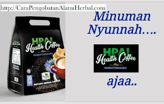 Health coffe plus habbatussauda Hpai original kopi pria dewasa