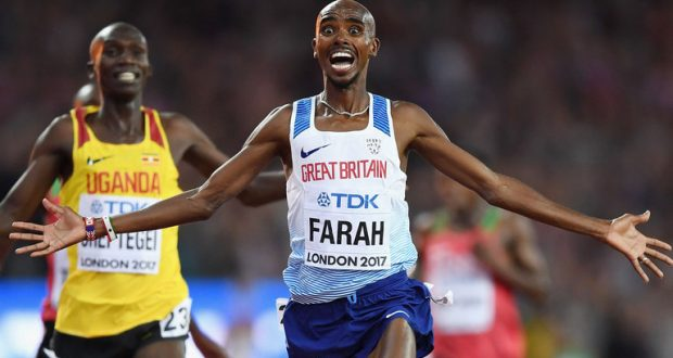 World Championships 2017: Mo Farah 'will overcome injury' sustained in 10,000m win