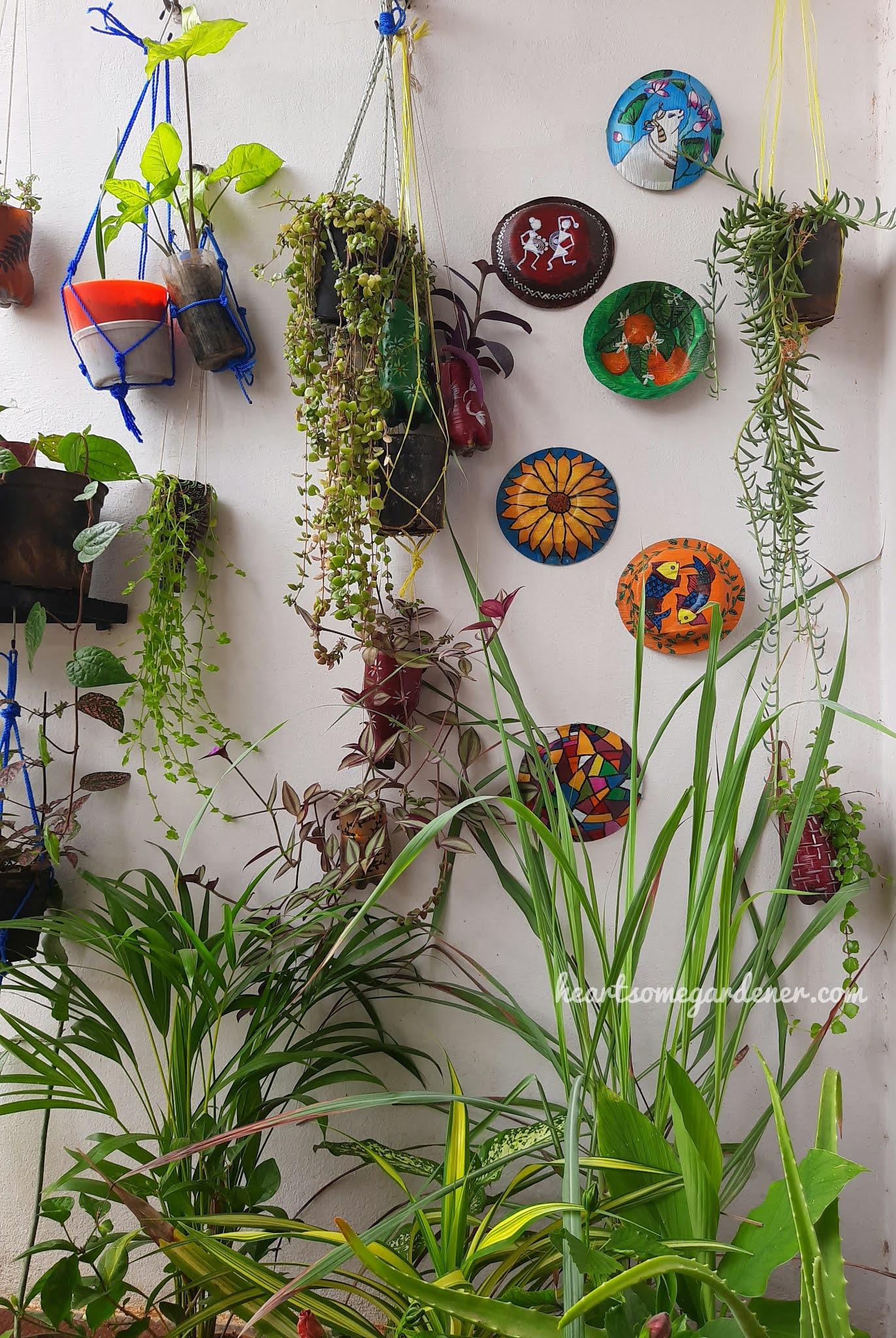 Areca palm paintings