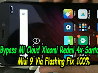 Cara Hapus Akun Mi Cloud Xiaomi Redmi 4x Santoni Miui 9 Via Flashing Fix 100%