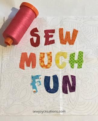 Sew Much Fun Tour block 1 Dragonfly's Quilting Design Studio