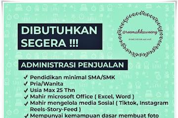 Lowongan Kerja Penjualan Roemah Kawoeng Bandung
