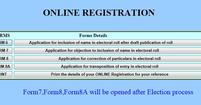 voters form 8