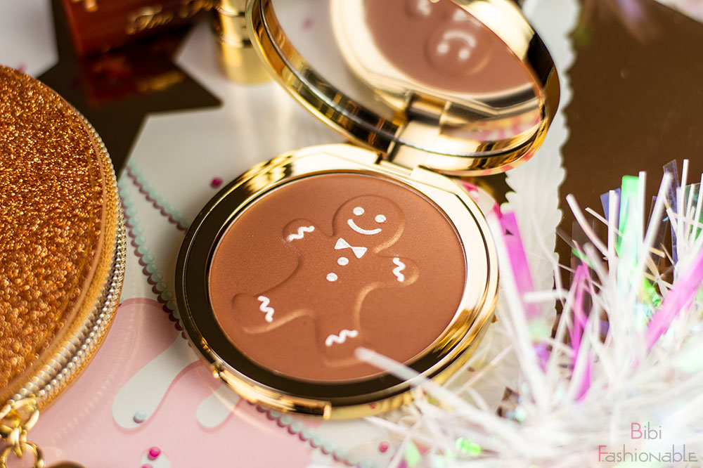 Too Faced Holiday Collection Gingerbread Kit Gingerbread Tan Spicy Bronzer