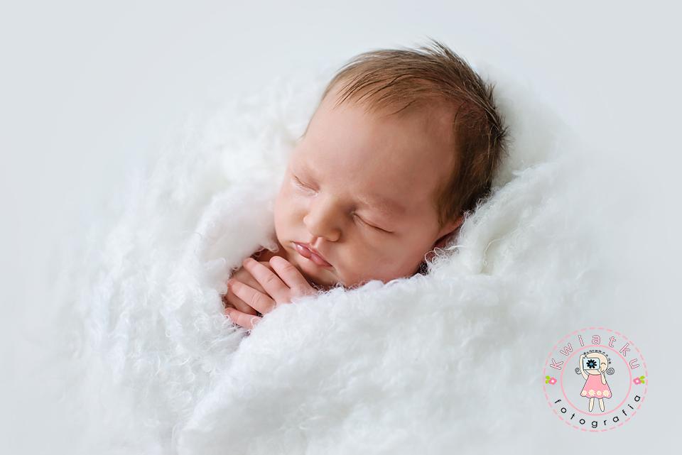 Sesja noworodkowa, zdjęcia niemowkąt
