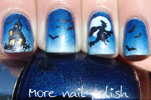 Witches This Is Halloween Nail Art Challenge More Nail Polish