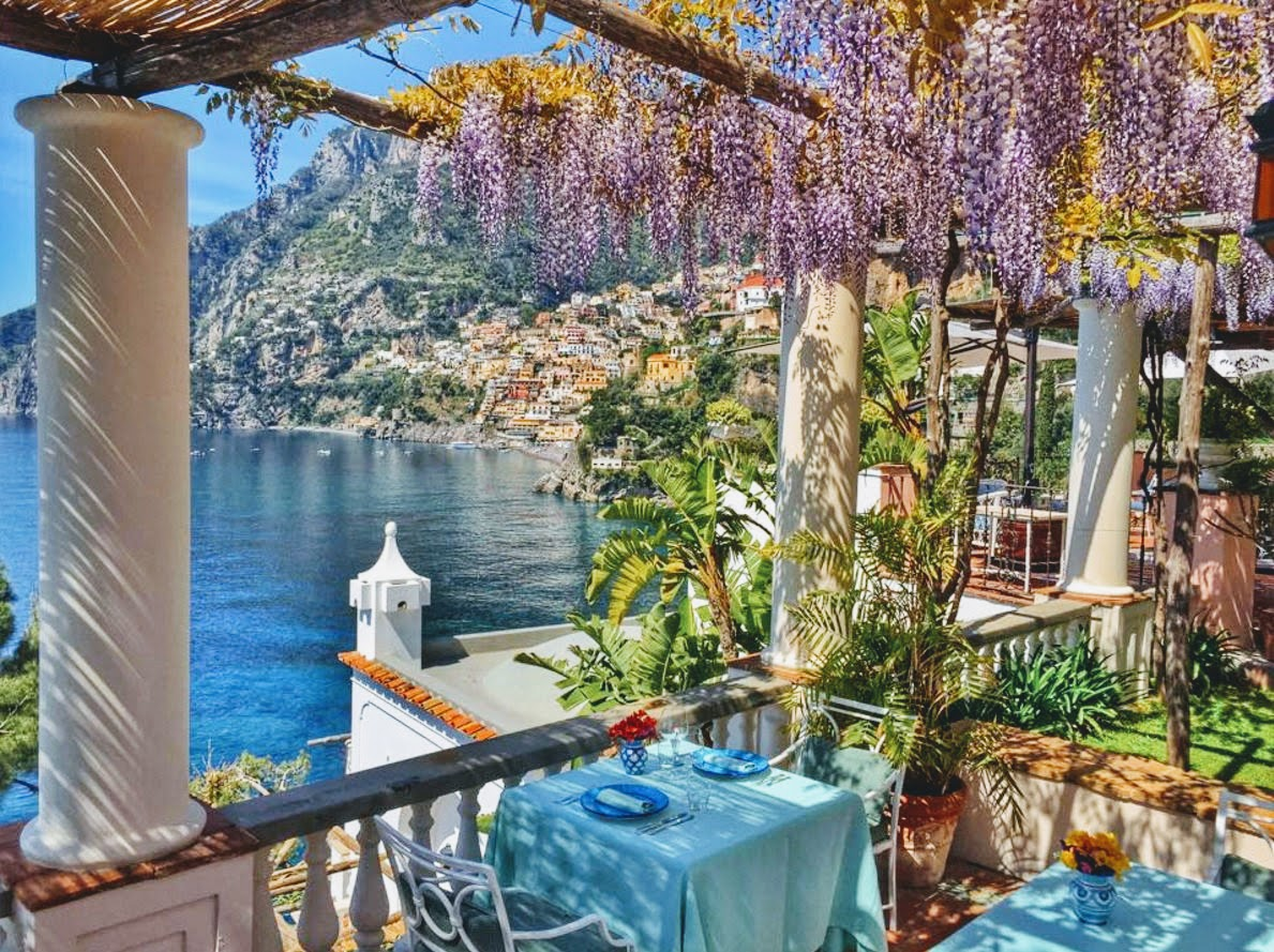 The Best Hotel on the Amalfi Coast : Villa TreVille, Positano