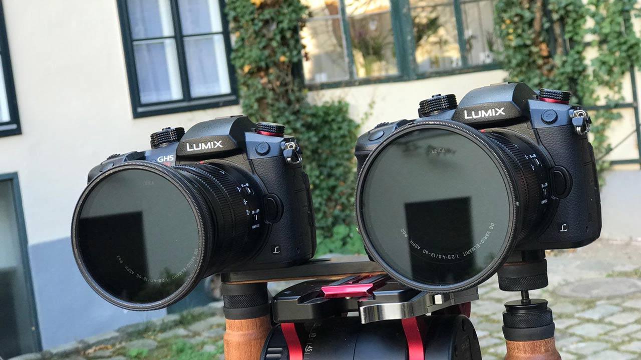 Две камеры Panasonic Lumix GH5s